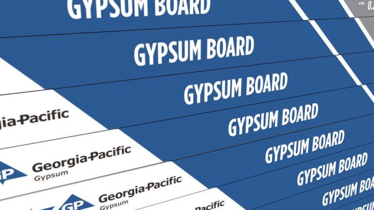 Georgia-Pacific ToughRock Drywall Gypsum Board