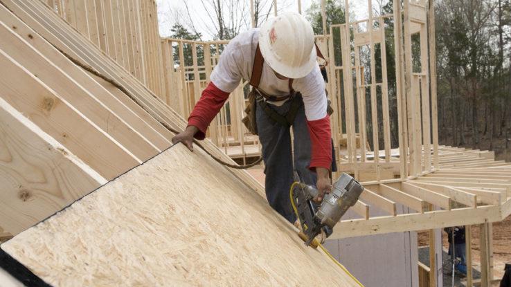 Georgia-Pacific DryGuard Enhanced OSB Roof Sheathing Panels