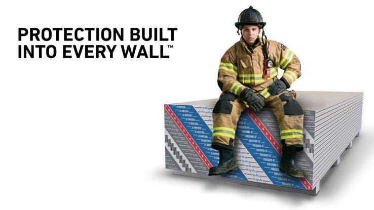 ToughRock Fireguard 45 Fire-Rated Gypsum Board