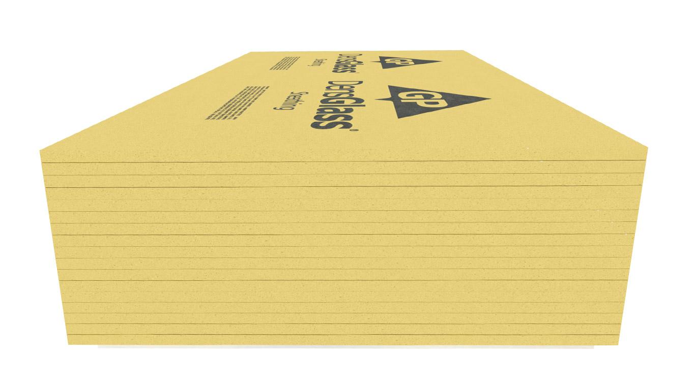Georgia-Pacific DensGlass Moisture-Resistant Gypsum Sheathing Panels
