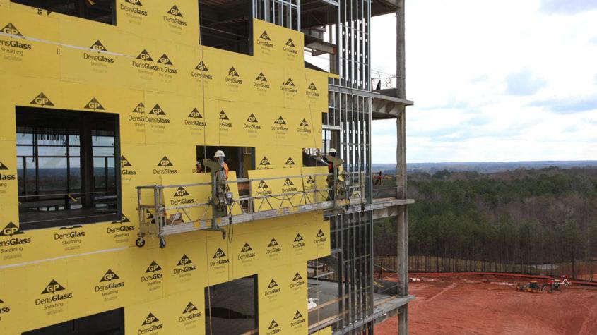 densglass piedmont newnan hospital project