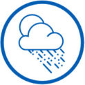 DensElement® Barrier System's integrated WRB-AB enables installation versatility even in wet, rainy weather.